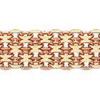 Цепочка из красного золота 585 пробы, Бисмарк четверной
