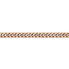 """Цепочка, плетение """"Панцирь одинарный"""" из красного золота 585 пробы"""