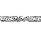 """Цепочка из белого золота 585 пробы, плетение """"Снейк"""""""