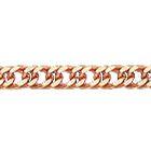 """Цепочка, плетение """"Панцирь двойной"""" из красного золота 585 пробы"""