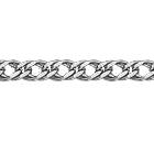 """Цепочка из белого золота 585 пробы, плетение """"Ромб двойной"""""""