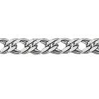 """Браслет из белого золота 585 пробы, плетение """"Ромб двойной"""""""
